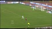 Azione capolavoro di Lazzari, il palo gli nega il goal contro la Lazio