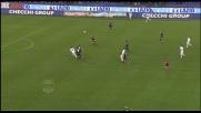 Doppio Romo su Floccari! L'Udinese evita il goal grazie al proprio portiere