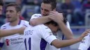 Doppietta per Mati Fernandez e goal del 2 a 0 della Fiorentina sul Cagliari