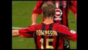 Tomasson, girata vincente per il tris del Milan