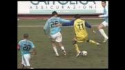 Amauri si smarca di tacco contro la Lazio