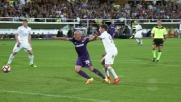 Calabria commette fallo su Borja Valero, rigore per la Fiorentina