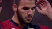 Tachtsidis col mancino impegna severamente Handanovic: è solo corner per il Genoa