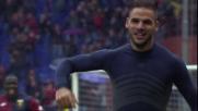 Tachtsidis supera Bizzarri e regala i 3 punti al Genoa
