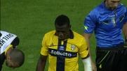 Tackle duro di Acquah che si fa espellere contro l'Udinese