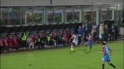 Tackle duro ed espulsione di Ledesma in Catania-Udinese