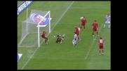 Taddei salva il goal dell'Udinese sulla linea
