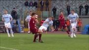 Taddei sblocca il derby! La Lazio va sotto con la Roma