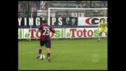 Tanta potenza, manca la precisione: Langella calcia alto in Cagliari-Sampdoria