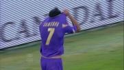 Tap-in di Santana e la Fiorentina segna il goal del pareggio contro il Brescia