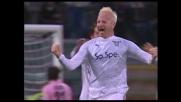 Tare segna il goal che completa la rimonta della Lazio a Palermo