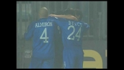 Tavano segna su calcio di rigore il goal del vantaggio sull'Udinese al Castellani