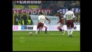 Tentativo di rabona per Bianchi contro il Milan