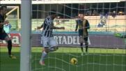 Tevez cala il bis: doppietta per l'Apache contro l'Hellas Verona