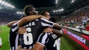 Tevez completa la goleada contro la Lazio con il goal del 4 a 1 definitivo
