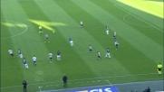 Thereau chiude il match contro l'Atalanta segnando il goal del 2 a 0