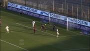 Thereau firma il goal della bandiera del Chievo al Sant'Elia