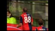 Thiago Motta fa esplodere Marassi col goal del raddoppio sul Cagliari