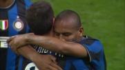 Thiago Motta illumina, Maicon finalizza in rete per il 3-0 tra Inter e Livorno