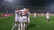 Thiago Silva segna il goal dello 0 a 4 al Palermo