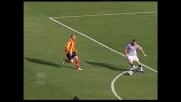 Tiribocchi la sblocca al Via del Mare e regala al Lecce il goal del vantaggio contro l'Udinese