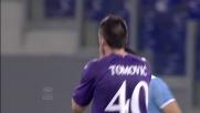 Tiro imbarazzante per Tomovic contro la Lazio
