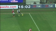 Mesbah in dribbling su Balotelli a San Siro
