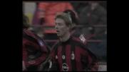Tomasson punisce dal dischetto, 3-0 per il Milan