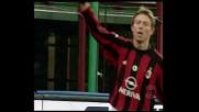 Tomasson, ribattuta vincente per il goal del raddoppio del Milan
