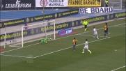 Toni cerca un bel goal di tacco ma Sportiello para il suo tiro