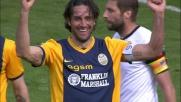 Toni con una gran botta al volo porta a tre i goal del Verona