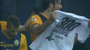 Toni di sinistro abbatte la porta dell'Udinese: sono 300 goal da professionista!