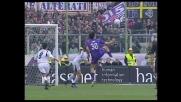 Toni segna il goal che vale la vittoria della Fiorentina sulla Lazio