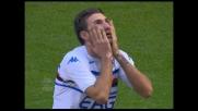 Delvecchio sfiora il goal in Milan-Sampdoria