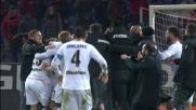 Trajkovski controlla e calcia in rete, il Palermo vince 4-3 a Genova in rimonta!