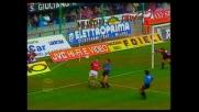 Trattenuta sospetta di Dino Baggio su Rijkaard in area di rigore