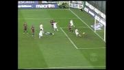 Traversa clamorosa di Cavani, a un passo dal goal a Cagliari