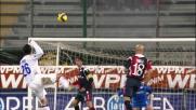 Traversa di Chivu! Il Cagliari rischia contro l'Inter