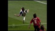 Trezeguet firma il goal che vale uno Scudetto contro il Milan