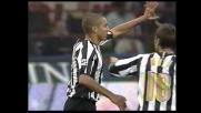 Trezeguet realizza il goal della bandiera a San Siro