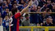 Tripletta di Milito: crollo Sampdoria e festa del Genoa nel derby