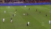 Troppa potenza, Keita spara alto il sinistro in Milan-Lazio