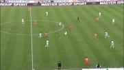 Troppo lungo l'assist di Floro Flores per Sanchez