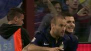Turbo Palacio: inserimento e goal per il pareggio dell'Inter
