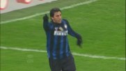 Tutto facile per il goal di Milito: tap-in contro il Cesena