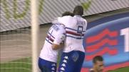 Tutto facile per la rete di Gabbiadini contro l'Hellas Verona