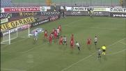 Floro Flores beffa Agazzi con un goal di rapina nell'area del Cagliari