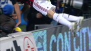 Ambrosini, tuffo fuori programma nel derby di Milano