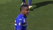 Pregevole sombrero di Muriel in Sampdoria-Lazio