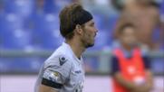 Marchetti in tuffo evita la gioia del goal a Dybala